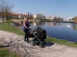 Johanna och Alice på Stumholmen