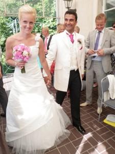 Det fina brudparet
