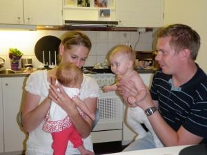 Med Karin och lilla Stina