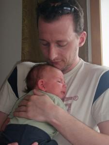 Viggo och pappa Rogier