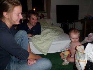 Visar Henrik och Elina alla leksaker