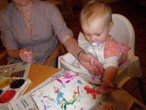 En liten konstnär