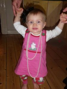En prinsessa med pärlor