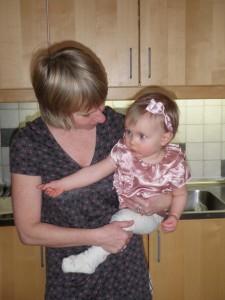 Kalaspingla med mormor