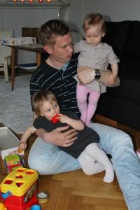 Pappa är tjejernas favorit