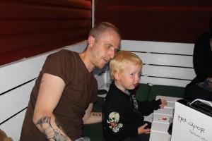 Morbror Henrik och kusin Leo
