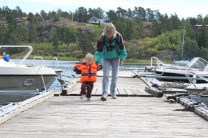 Ska ta en tur med båten