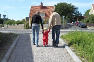 Med mormor och morfar