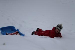 Snö-dyk