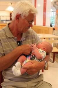 Med farfar