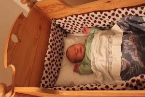 Sover (en kort stund) i vaggan
