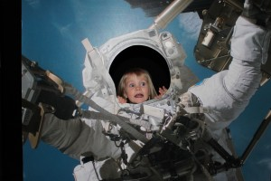 Liten astronaut