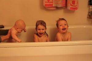 Att bada är nästan det roligaste som finns