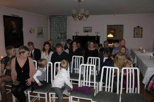 Det kom många gäster