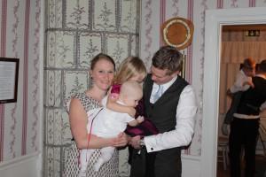 Försök till familjefoto